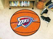 "27"" diameter NBA - Oklahoma City Thunder Basketball Mat"