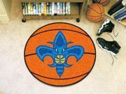 """27"""" diameter NBA - New Orleans Hornets Basketball Mat"""