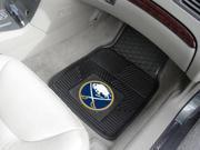 """18""""x27"""" Buffalo Sabres 2-pc Heavy Duty Vinyl Car Mat Set"""