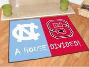 "34""x45"" North Carolina - North Carolina State House Divided Rugs 34""x45"""