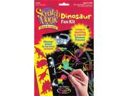 Melissa and Doug 5917 Scratch Magic Draw & Learn Dinosaur - 3360