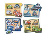 Melissa and Doug Vehicles Mini-Puzzle