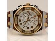 Aqua Master Royal Oak Mens Diamond Watch 1.50ctw W3251