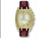 Aqua Master Men's Fancy Diamond Watch, 3.50 ctw