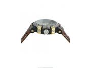 Aqua Master Titanium Glory Diamond Watch Brown Band