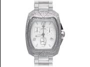 Aqua Master Men's Aqua-Diamond Watch with Full Diamond Case, 4.00 ctw