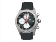 Aqua Master Men's Round Bubble Loop Full Case Diamond Watch, 3.50 ctw