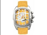 Aqua Master Men's Large Rectangular Bubble Loop Diamond Watch with Grille, 2.25 ctw
