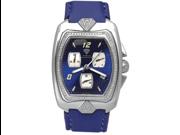 Aqua Master Men's Aqua-Diamond One Row Diamond Watch, 1.25 ctw