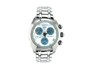 Aqua Master Men's Round Bubble Style Diamond Watch, 0.75 ctw