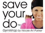 Save Your Do™ Full Triangle GymWrap - Sweat-Wicking Headband with Patented Edge Control Technology by Nicole Ari Parker