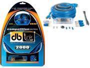 DB LINK CK4Z 4-Gauge Competition Series Amp Installation Kit