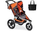 BOB - Revolution FLEX Stroller with Bag - Orange Silver