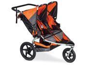 BOB ST1372 - Revolution FLEX Duallie Double Stroller - Orange Silver