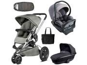 Quinny - Buzz Xtra MAX Complete Collection - Gravel Grey