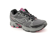 Saucony Grid Cohesion TR 5 Womens Size 6 Gray Mesh Trail Running Shoes