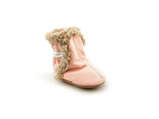 Stride Rite Booties 4 Infant Baby Girls Size 6-12 Months Pink Booties Shoes