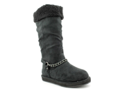 G By Guess Horizan Womens Size 6 Black Textile Winter Boots