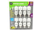 GE 31064 - FLE13/8PK Twist Medium Screw Base Compact Fluorescent Light Bulb