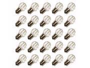 Sival 81001 - G30 Intermediate Screw Base Sun Warm White LED (25 pack) Christmas Light Bulbs 9SIA0BD30V6405