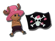 Chopper and Flag One Piece Pins GE Animation