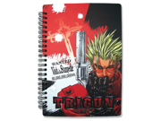 Notebook Trigun Anime Vash the Stampede Notebook ~8x6 inches GE Animation