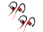 2pc Sports Hook Running Earphones High Quality Stereo Earphones Headset for PC MP3 MP4 iPod