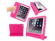 GEARONIC TM Children Safe Kids Friendly Protective Eva Foam Rugged Case Cover Handle Stand Case for Apple iPad Air 2 Gen Hot Pink