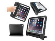 GEARONIC TM Children Safe Kids Friendly Protective Eva Foam Rugged Case Cover Handle Stand Case for Apple iPad Air 2 Gen Black