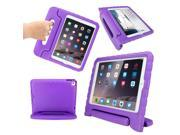 GEARONIC TM Children Safe Kids Friendly Protective Eva Foam Rugged Case Cover Handle Stand Case for Apple iPad Air 2 Gen - Purple