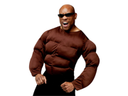Men's African American Muscle Chest Shirt Adult Costume 9SIA2K34T48441
