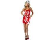 Women's Costume: Coca Cola Dress