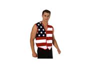 American Flag Stars and Stripes Vest
