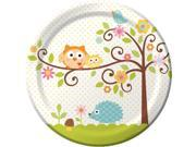 Happy Tree Luncheon Plates  (8 Pack) - Party Supplies