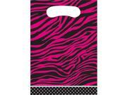 Pink Zebra Boutique Loot Bags (8 pack) - Party Supplies 9SIAD2459X6345