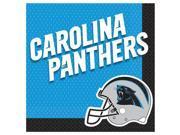 NFL Carolina Panthers Luncheon Napkins (16 Pack)