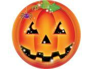 Perfect Pumpkin Luncheon 9 Inch Plates (8 Count) - Party Supplies 9SIA0BS1332958