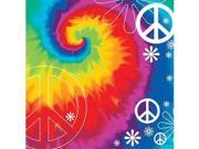Tie Dye Party Beverage Napkins (18-pack) - Party Supplies 9SIA01910T8400