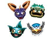 "Skylanders 6"""" Paper Masks (8 Pack) - Party Supplies"" 9SIA0BS2YY0187"