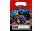 Monster Truck Loot Bags - Party Supplies 9SIA0BS0NC2285
