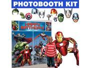 Avengers Deluxe Photo Booth Kit - Party Supplies 9SIA0BS3U59680