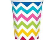 Chevron Multi Color 9Oz Cups (18 Pack) - Party Supplies 9SIA0BS1BD9589