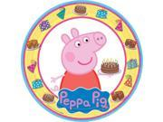"Peppa Pig 9"""" Luncheon Plate (8 Pack) - Party Supplies"" 9SIABHU59H6433"