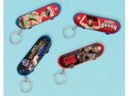 WWE Skateboard Keychain Favors (Each) - Party Supplies 9SIA0BS34P7410