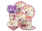 Happy Woodland Girl Standard Kit (Serves 8) - Party Supplies 9SIA0BS2YX9238