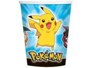 Pokemon 9oz Cups (8 Pack) - Party Supplies 9SIA0BS2YY1157