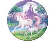 "Unicorn Fantasy 9"""" Luncheon Plates (8 Pack) - Party Supplies"" 9SIA0BS2YY1270"