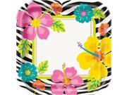 """Wild Luau 9"""""""" Luncheon Plates (8 Pack) - Party Supplies"""" 9SIA0BS2YX8785"""