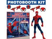 Spiderman Ultimate Photo Booth Kit - Party Supplies 9SIA0BS3VH6652