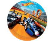 "Hot Wheels Wild Racer 9"""" Luncheon Plate (8 Count) - Party Supplies"" 9SIA0BS3VV2786"